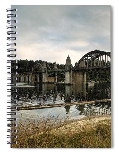 Siuslaw River Bridge Spiral Notebook
