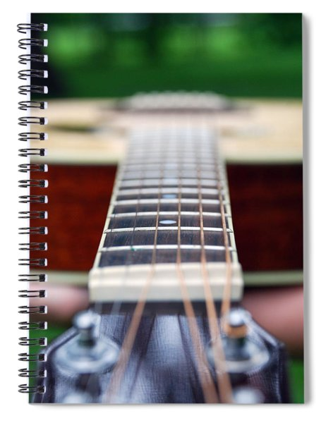 Six String Music Spiral Notebook