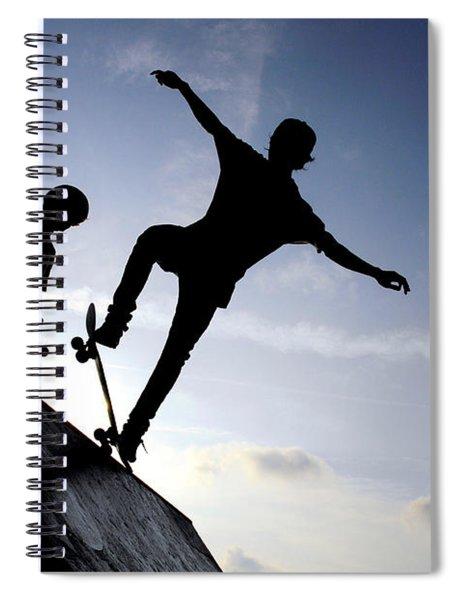 Skateboarders Spiral Notebook