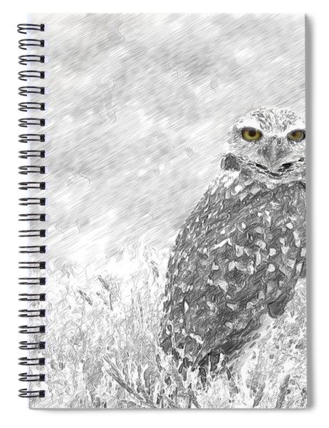 Sketching The Wise Guy Spiral Notebook