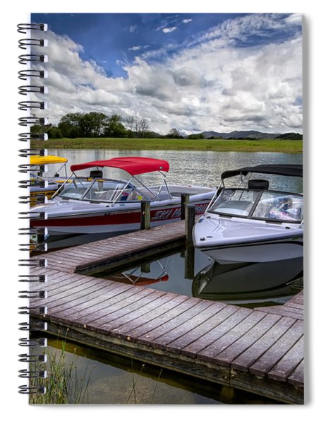 Ski Nautique Spiral Notebook