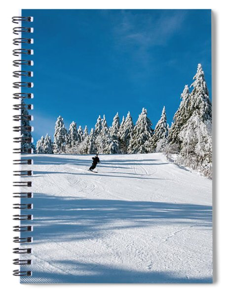 Skiers Paradise Spiral Notebook