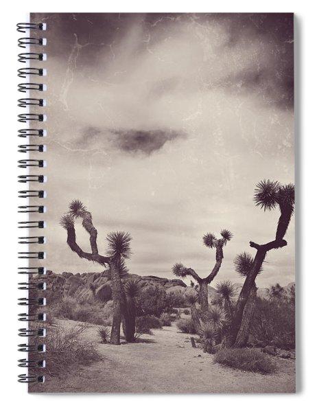 Skies May Fall Spiral Notebook