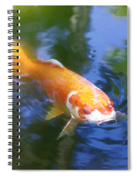 Skimming The Surface Spiral Notebook