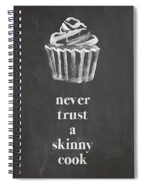 Skinny Cook Spiral Notebook