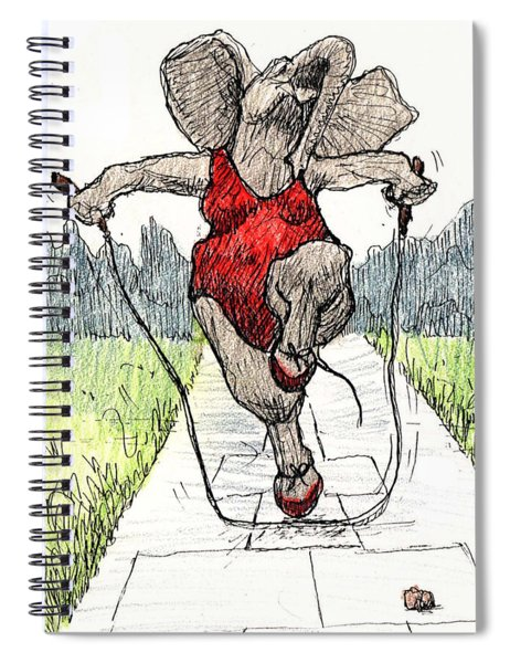 Skipping Rope Spiral Notebook