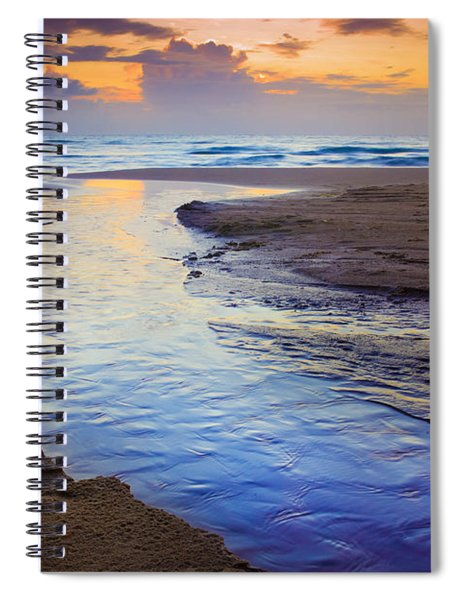 Skiveren Beach Spiral Notebook
