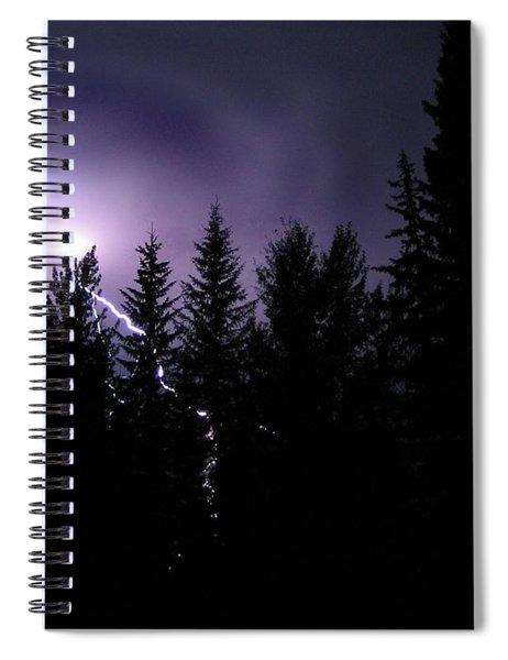 Sky Bolt Spiral Notebook