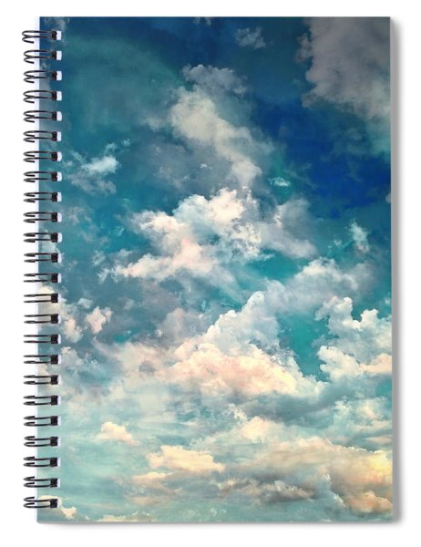 Sky Moods - Refreshing Spiral Notebook