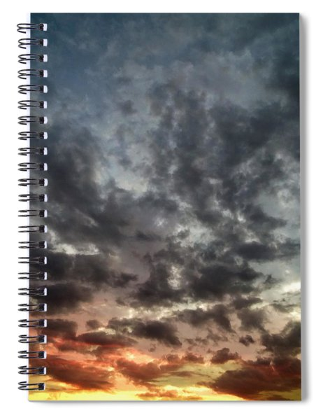 Sky Moods - Spectrum Spiral Notebook