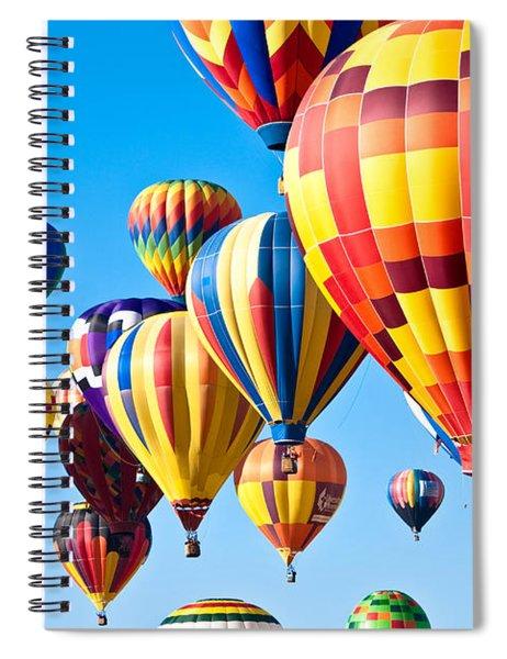 Sky Of Color Spiral Notebook
