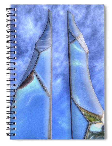 Skycicle Spiral Notebook