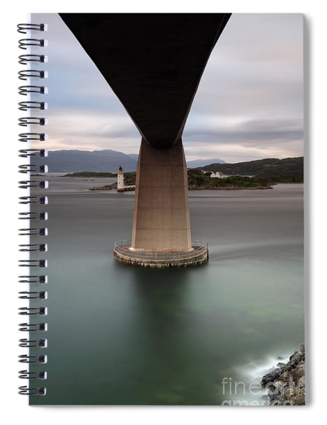 Skye Bridge At Sunset Spiral Notebook