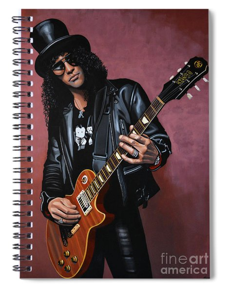 Slash Spiral Notebook