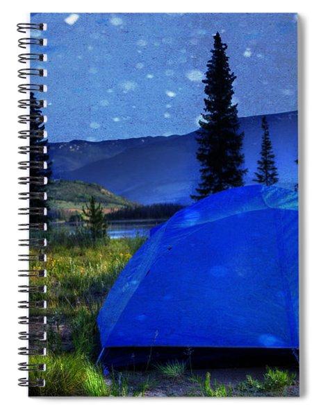 Sleeping Under The Stars Spiral Notebook