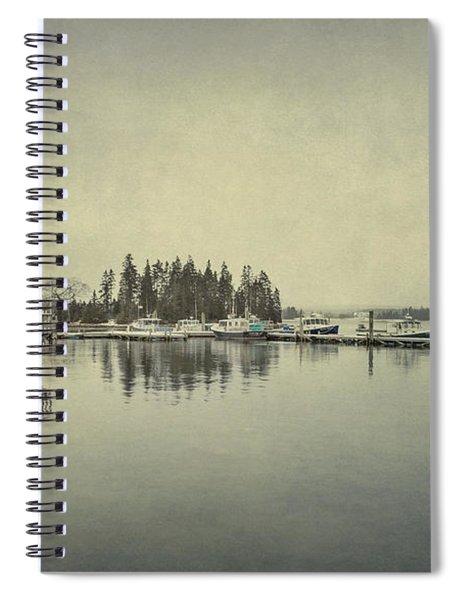 Sleepy Shores Spiral Notebook