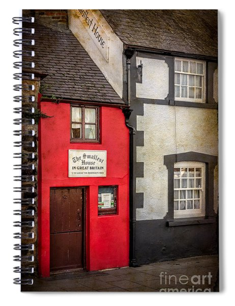 Smallest House Spiral Notebook