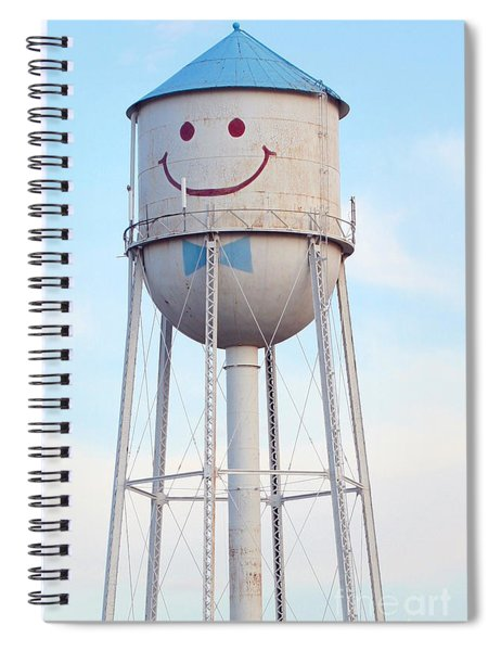 Smiley The Water Tower Spiral Notebook