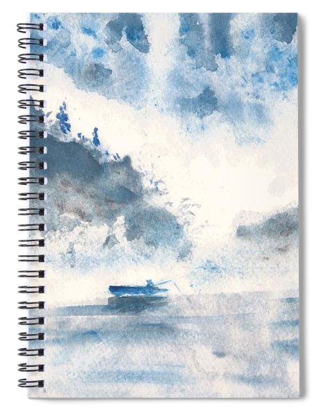 Smoke On The Water  Spiral Notebook
