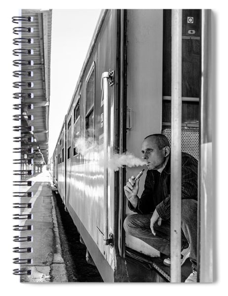 Smoke Spiral Notebook