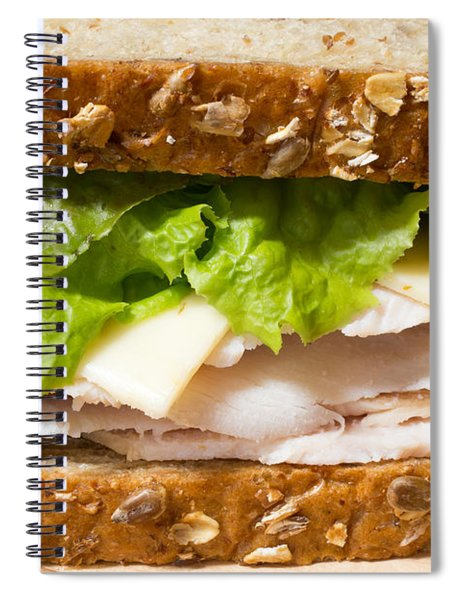 Smoked Turkey Sandwich Spiral Notebook