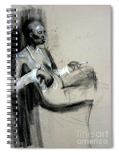 Smoking Spiral Notebook