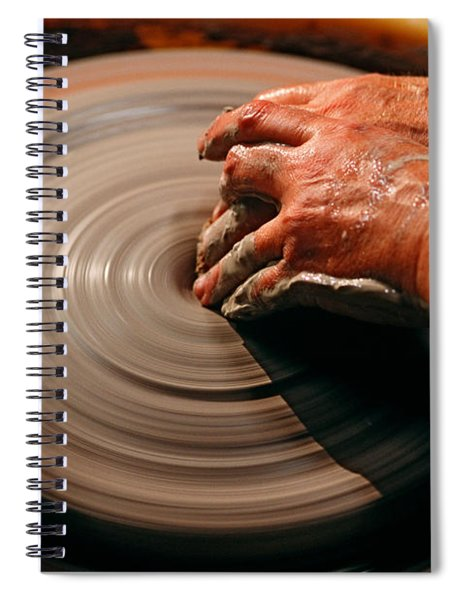 Smoothing Clay Spiral Notebook