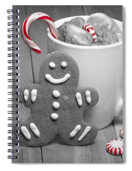 Snack For Santa Spiral Notebook