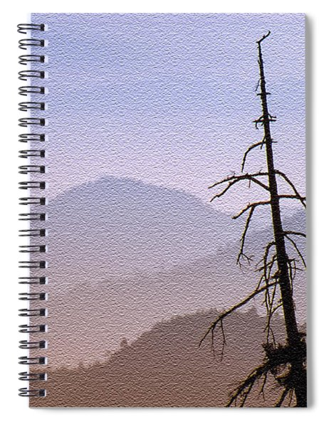 Snag On The Hill Spiral Notebook