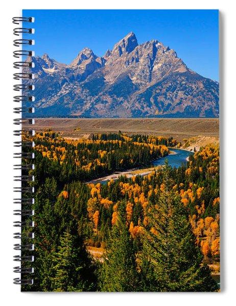 Snake River Overlook Spiral Notebook