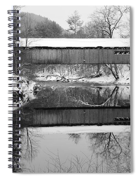 Snow Covered Coombs Spiral Notebook