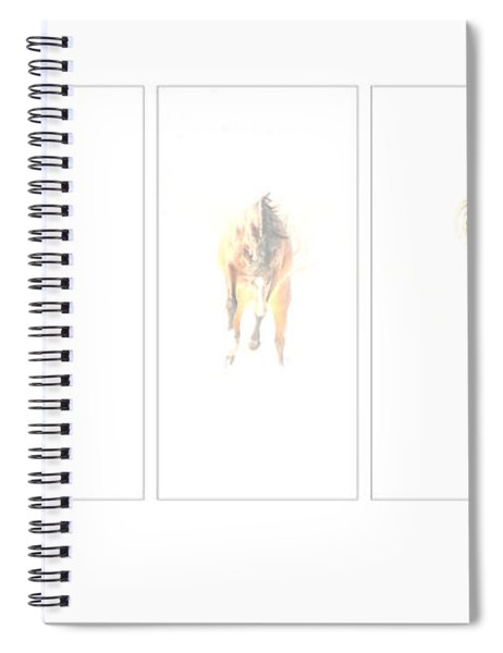 Snow Dance Spiral Notebook