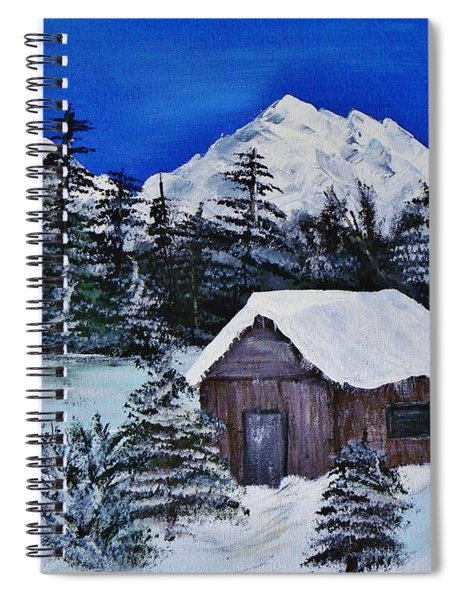 Snow Falling On Cedars Spiral Notebook