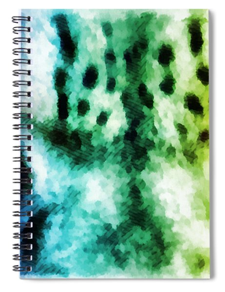 Snow Leopard Eyes 2 Spiral Notebook