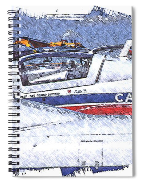 Snowbirds Spiral Notebook