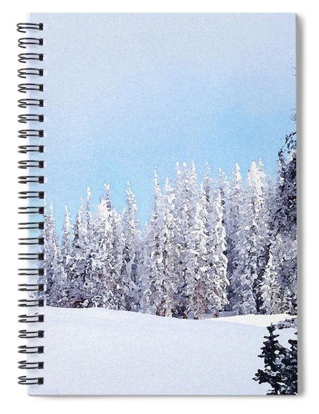 Snowbound Spiral Notebook