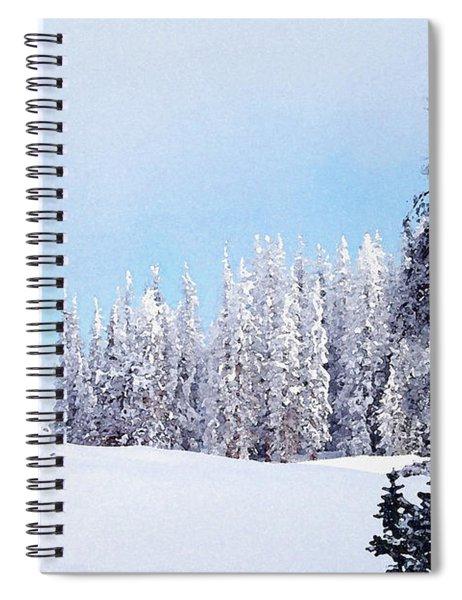 Snowbound Spiral Notebook