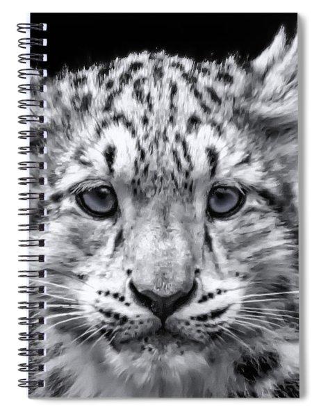Snowcub Spiral Notebook