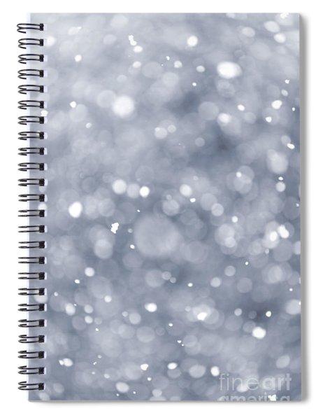 Snowfall  Spiral Notebook
