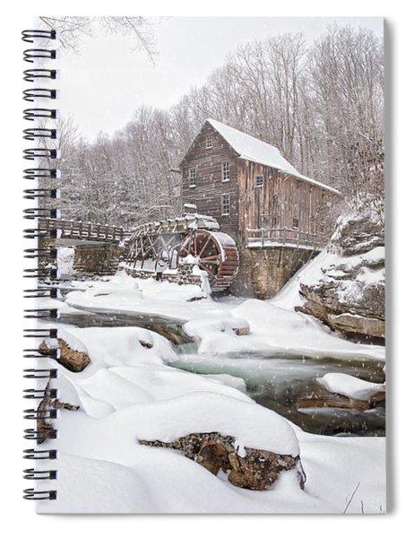 Snowglade Creek Grist Mill 1 Spiral Notebook