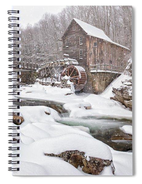 Snowglade Creek Grist Mill Spiral Notebook