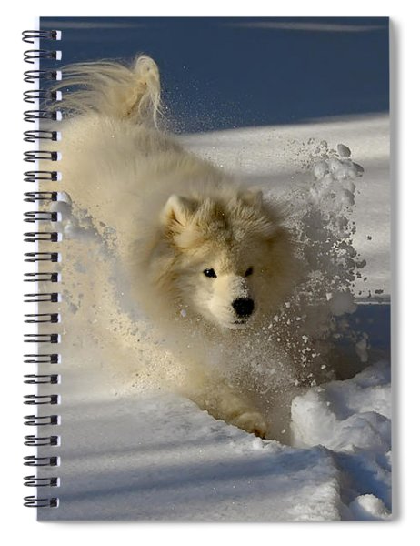 Snowplow Spiral Notebook