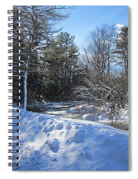 Snowy River Road Spiral Notebook