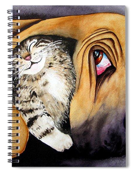 Snuggles Spiral Notebook
