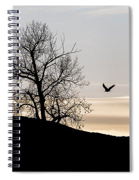 Soaring Eagle Spiral Notebook