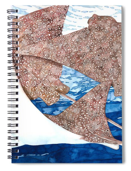 Soaring Eagle Rays Spiral Notebook