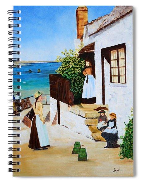 Social Harmony Spiral Notebook
