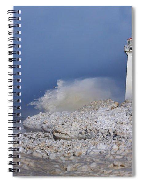 Sodus Bay Lighthouse Spiral Notebook