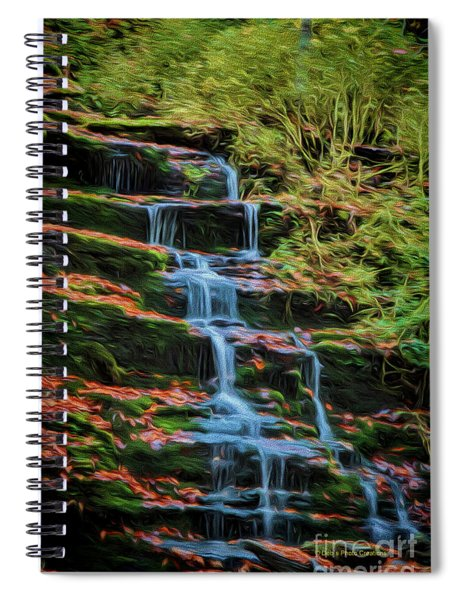Soft Flow Spiral Notebook