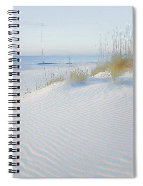 Soft Sandy Beach Spiral Notebook